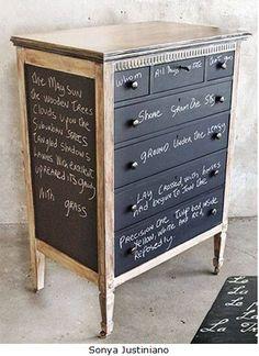 Reciclagem de Cómodas / Recycling Chests of drawers