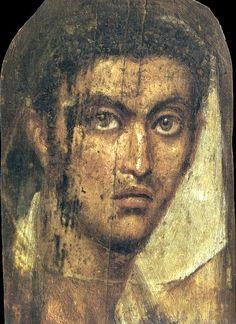 Mummy Portrait of a young man (source: http://vk.com/album-32174457_165235121)