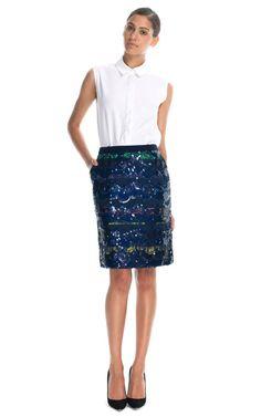 Shop Preen Jackson Skirt at Moda Operandi