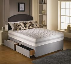 "2ft 6"" Barcelona Small Single Divan Bed"