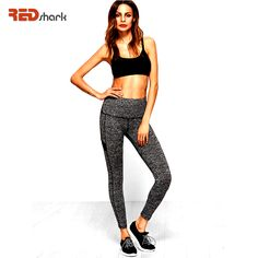 REDshark 2017 Women Fitness Sport Legging Functional Gym Workout Pants Sports Leggings Suitable for yoga Running Pants