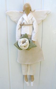 Tilda doll - natural by countrykitty, via Flickr