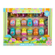HAPPY EASTER CANDY FILLED EASTER EGGS (32 CANDY FILLED EGGS)(?GREAT FOR EASTER EGG HUNTS) $27.72  #HappyEaster #Easter #GiftCards