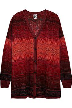 M MISSONI Crochet-knit cardigan. #mmissoni #cloth #cardigan