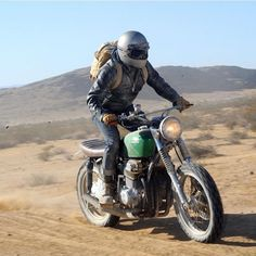 """#scrambler discover #motomood biltwellinc: """"Big Russ Neip doing work on his CB750 during the LAB2V #ridemotorcycleshavefun Shout out the photographer if you know his name """" scrambling"""