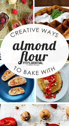 Delicious and creative recipes using ALMOND flour! Gluten free, paleo, low carb and refined sugar free options!
