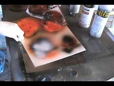 Spray Paint Art Tutorial: Planets with Color!