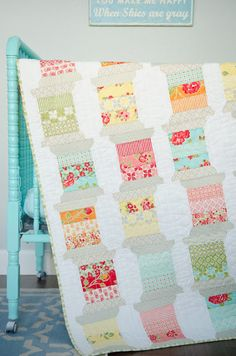 Pattern of the Month May 2013: Spools Perfect addition to any sewing space!