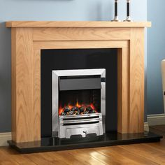 Zoom Wooden Fireplace, Fireplaces, Home Decor, Fireplace Set, Fire Places, Interior Design, Home Interior Design, Home Decoration, Decoration Home