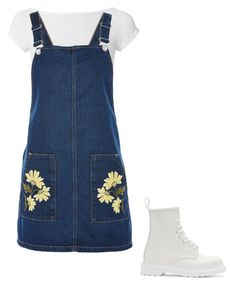 """""""Untitled #3"""" by emilykaitlyn22 on Polyvore featuring Helmut Lang, Topshop and Dr. Martens"""