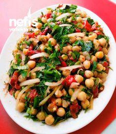 Nohut Salatası ( Közlenmiş Biberli)