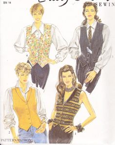 New Look 6113 Womens Sewing Pattern Button Down by Sutlerssundries, $5.00