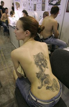 Best Tattoo Gallery: Tiger tattoo pictures. Favorite