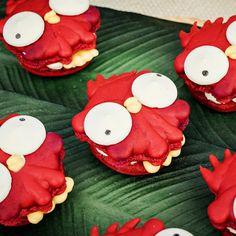 Heihei French Macarons / Moana Party / Moana Desserts