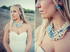 The Bridal Boulevard: {Making a Statement} - Statement Necklaces