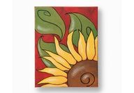 Easy Canvas Painting Ideas | Fall Sunflower Canvas