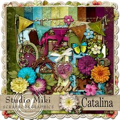 Catalina Page Kit By Miki @ Scrapbookgraphics.Com
