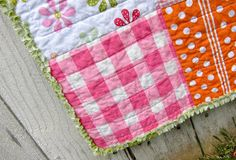"""Play quilts are a great option for a gift if you don't have the time for a """"pieced quilt"""".        Pick some cute fabric, I use 1 1/4 yards..."""