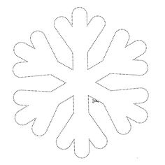 Snowflakes II / Flocons II