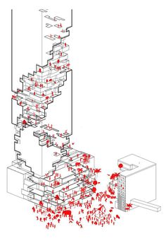 Ole Scheeren, a partner for Office for Metropolitan Architecture (OMA) and project leader of the recently completed Beijing's CCTV Tower, considered. Architecture Design, Architecture Concept Diagram, Architecture Graphics, Architecture Drawings, Architecture Diagrams, Architecture Portfolio, Gothic Architecture, Classical Architecture, Ancient Architecture