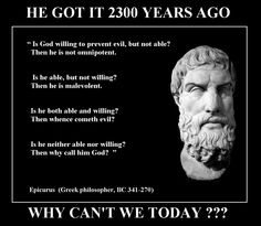 Quote of the Day : Epicurus on God | Jokes, Search and Philosophy