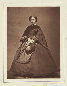 Princess Louise, April 1862 [in Portraits of Royal Children Vol.6 1862-1863]   Royal Collection Trust