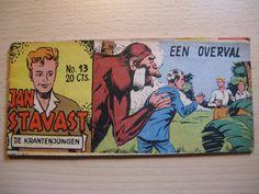 Een oud Lilliput stripboek: Jan Stavast, de krantenjongen...een overval...1954 door AntiqueshopNL op Etsy