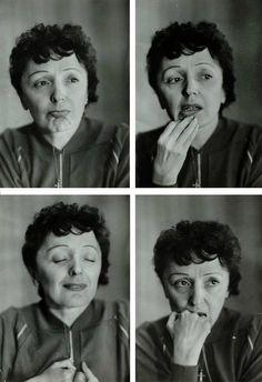 Edith Piaf by Nyk Zietara