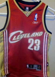 Lebron James BLUE Cleveland Cavaliers jersey , youth small | YOUTH