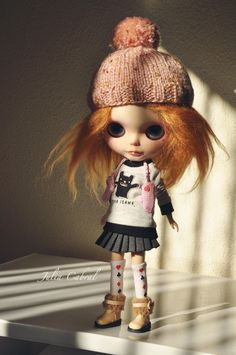 Blythe Doll... love this grungy sloppy one.