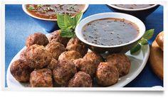 Sauce DianaMD et Marinade :: Recettes :: Boulettes de viande et délicieuses sauces pour tremper