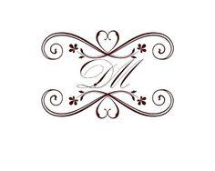 Monogramas para Casamento Download Grátis | Toda Atual