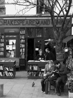 The Famous Shakespeare and Company bookstore in Paris ...still there!