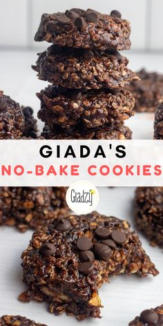 Giada Recipes, Baking Recipes, Cookie Recipes, Dessert Recipes, Healthy Desserts, Easy Desserts, Delicious Desserts, Yummy Food, Almond Butter Cookies