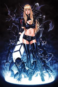 Marvel Comic Book Artwork • The New Mutants: Dead Souls #1 cover by Mark Brooks. Follow us for more awesome comic art, or check out our online store www.7ate9comics.com