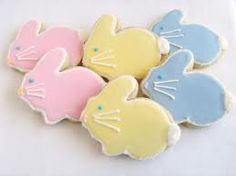 Image result for easter bunny sugar cookies