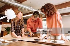 Stock Photo : Coworkers and new ideas