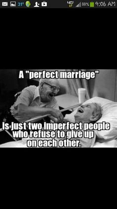 A perfect marriage..