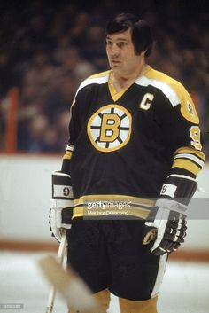 Canadian pro hockey player Johnny Bucyk, captain of the Boston Bruins, stands on the ice during an away game, Ice Hockey Teams, Hockey Mom, Pro Hockey, Boston Bruins Hockey, Pittsburgh Penguins Hockey, Chicago Blackhawks, Hockey Pictures, Hockey World, Boston Sports