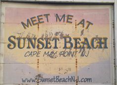 Cape May NJ    Beautiful sunset Beach