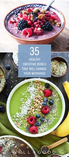 35 healthy smoothie bowl recipes | Well+Good