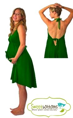 This would've been better than the open in the back hospital gowns!!! Green Pretty Pushers Disposable Delivery Gown) $24.00 with free shipping at Sweetbottoms Baby Boutique