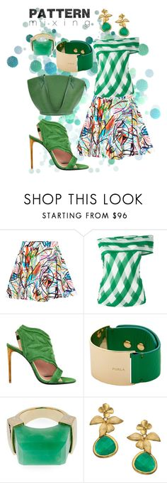 """""""Untitled #506"""" by grisucloset ❤ liked on Polyvore featuring Jeremy Scott, STELLA McCARTNEY, Roland Mouret, Furla, Jade Jagger, Alvina Abramova and Louis Vuitton"""