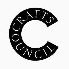 Crafts Council by John Rushworth, Pentagram. (1991) #logo #branding #design