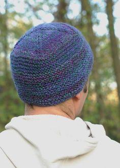 Woolly Wormhead - Mr Tom's Beanie - free Hat knitting pattern