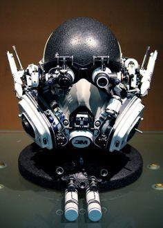Masks of robots Cyberpunk Fashion, Cyberpunk Art, Character Concept, Concept Art, Character Design, Cosplay, Sci Fi Armor, Future Soldier, Robot Design
