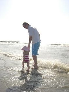 Thought we'd post some cherished photos from our guests over the years in celebration of Fathers Day this Sunday, June 17th! Daughter's first trip to the US & the beach! Daddy and his little girl playing in the surf!