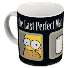 The Simpsons Tasse The Last Perfect Man Homer Simpson, The Simpsons, Perfect Man, Nerd, Tableware, Cool, Amazon, Kitchen, Products