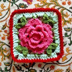 pattern for Babushka Rose Afghan