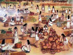 Muisca markets Aztec Culture, Art Base, Ancient History, Archaeology, Civilization, Native American, Cool Art, Past, Mexico